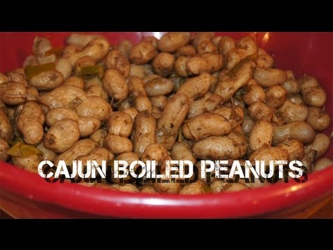 How To Cook Cajun Boiled Peanuts