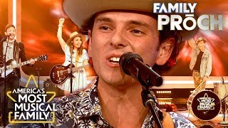 "Family Proch Perform ""Viva La Vida"" by Coldplay 
