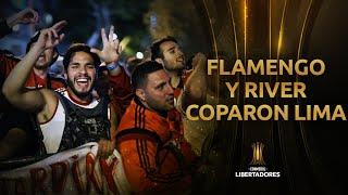 Flamengo y River COPARON las calles en Lima | CONMEBOL Libertadores