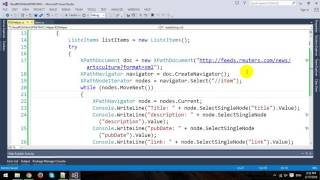 Read RSS Feeds in ASP.NET MVC