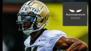 Why is Cameron Meredith was an excellent free agent signing by the New Orleans Saints