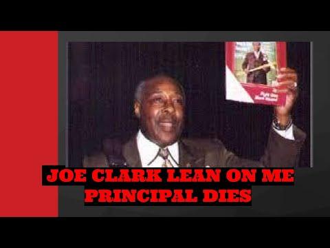 N.J. principal Joe Clark who inspired film 'Lean on Me' dies at 82