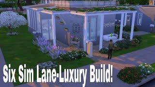 The Sims 4 House Build- 6 SIM LANE DELUXE RENO