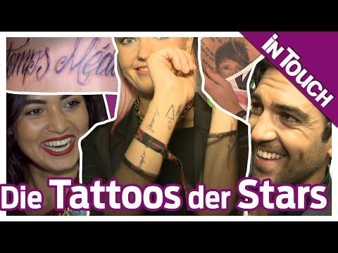 Elyas M'Barek & Co. im Tattoo-Check