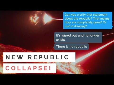 New Republic Collapse? Star Wars Leak: No New Republic in Episode 8: The Last Jedi!