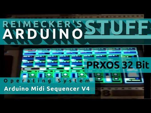 Arduino Midi Sequencer V4