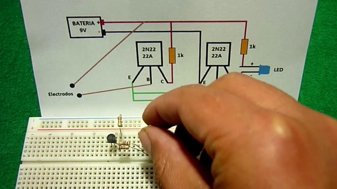 Simulador De Circuitos Electronicos Wiring Diagrams Portable Generator Sn 5694391 5694396 2009 Diagram Circuito Detector Humedad Muy F U00e1cil Hacer Youtube Electricos