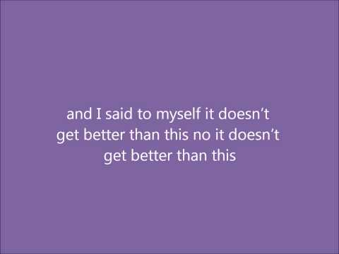 Brad Paisley - It Did Lyrics