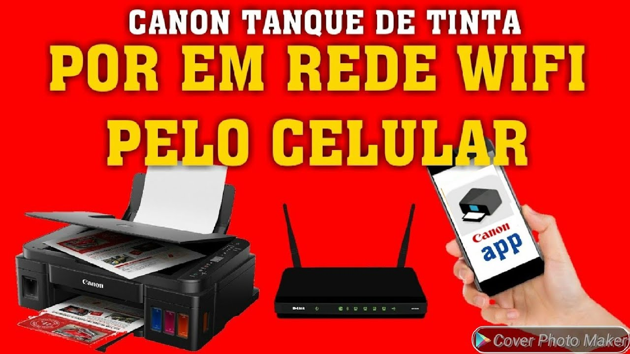 CONFIGURAR CANON G3100 E G3102 NO WIFI PELO SMARTPHONE - YouTube on