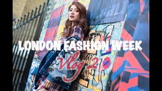 曦遊記travel with elva - London Fashion Week倫敦時裝周(Vlog 2)