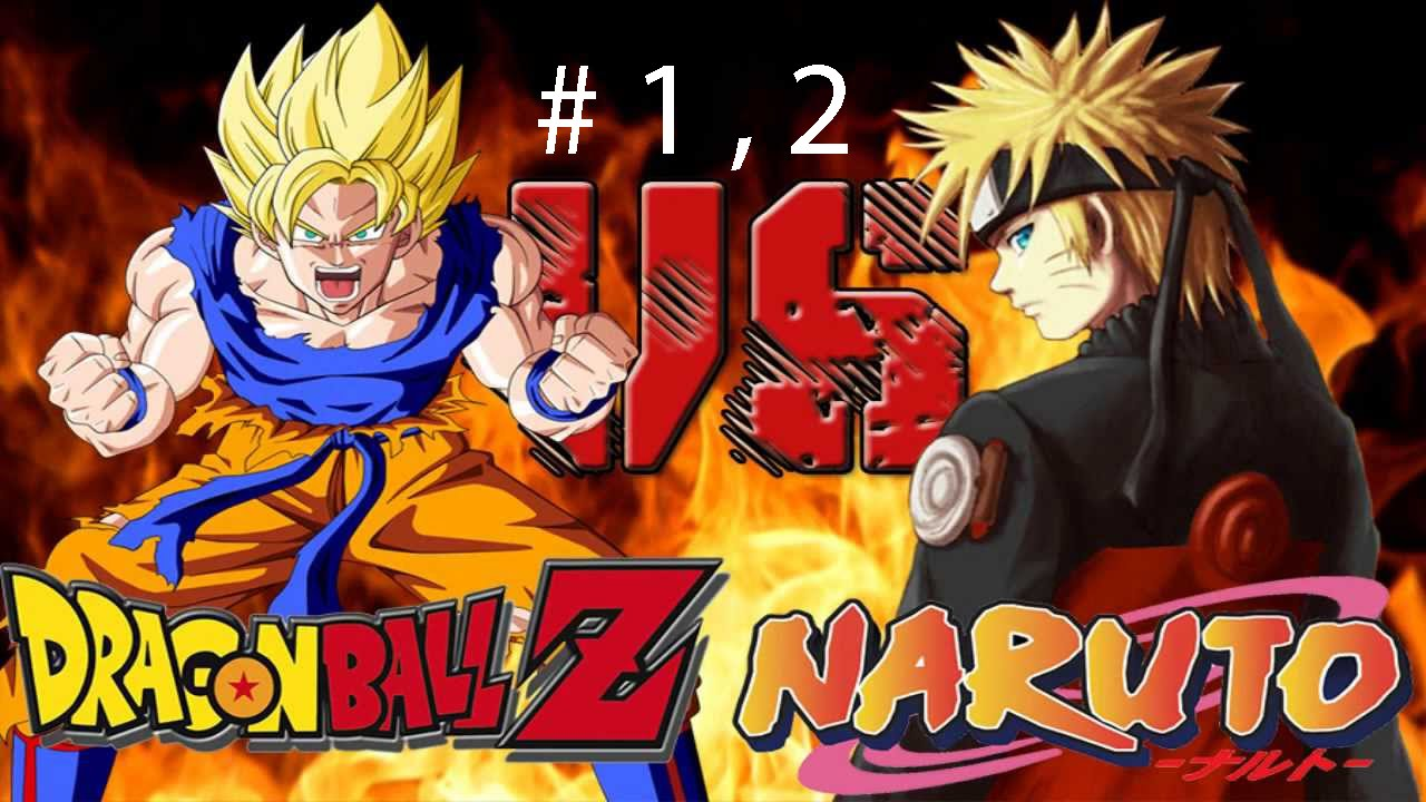 Naruto vs dragon ball z goku part 1 game play youtube - Naruto and dragonball z ...