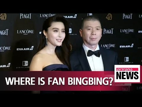 Speculation swirls over whereabouts of prominent Chinese actress  Bingbing