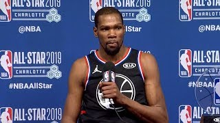 Kevin Durant Postgame Interview - Team LeBron vs Team Giannis | 2019 NBA All-Star Game