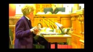 Woman Argues Against Gay Civil Unions - Fails Miserably