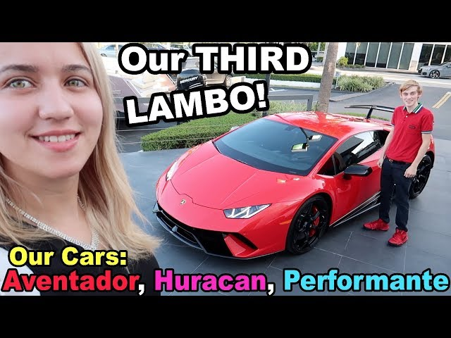 WE BOUGHT ANOTHER LAMBORGHINI!! (PERFORMANTE)