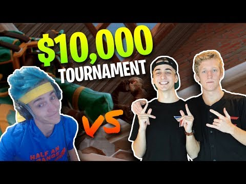 Ninja & KingRichard vs. FaZe Tfue & Cloak...