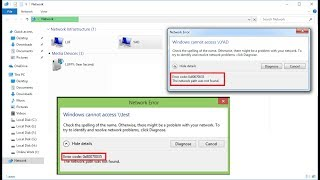 How to Fix Network Error 0x80070035 Windows Cannot Access