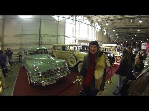 Выставка ретро автомобилей Олдтаймер 2014 в Москве (Сокольники)