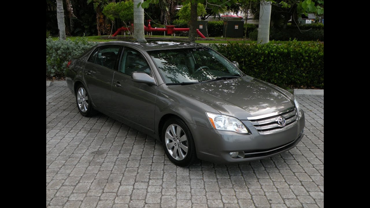 2005 toyota avalon xls for sale in fort myers fl youtube. Black Bedroom Furniture Sets. Home Design Ideas
