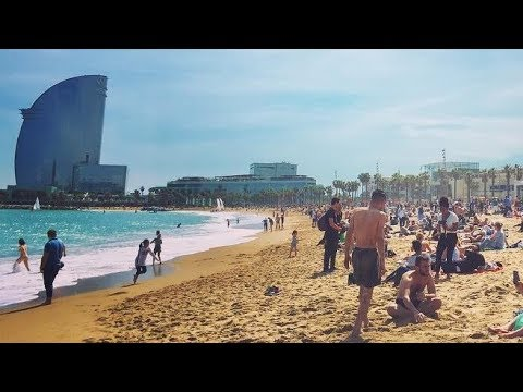 Barcelona Spain - Summer season