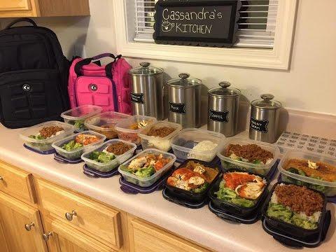 Preparaci n de comida para la semana doovi for Comida saludable para toda la semana