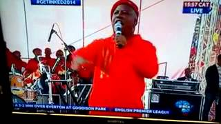 julius malema gunning at chomee