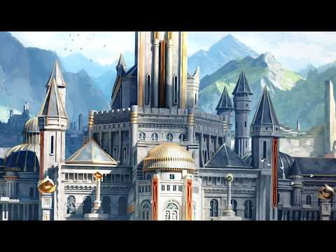 Concept Art School - Illustration Breakdown of Royal Palace