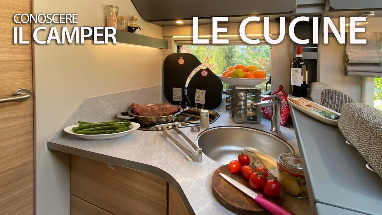 Conoscere Il Camper Cucine E Impiantistica Getting To Know Motorhome Kitchens On Board Systems Youtube