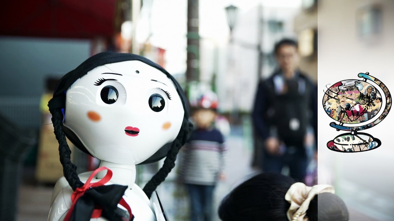 Japanese Robots Are Challenging What It Means To Be Human Youtube