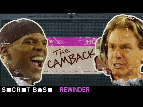 Cam Newton's iconic comeback against Alabama deserves a deep rewind