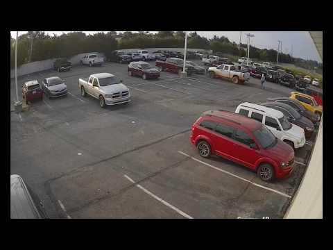 Night Hawk Monitoring early morning car dealership thief apprehension 7/28/18