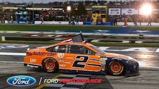 Keselowski Snags Back-to-Back Ford Victories at Atlanta Motor Speedway | NASCAR | Ford Performance