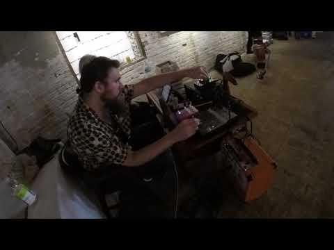 Ryan Reno at Neu Sonics Improvised Music Festival '17