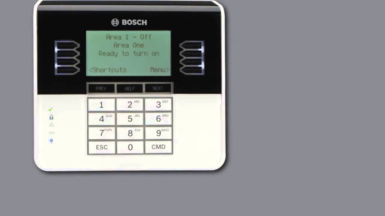 Bosch B Series Keypad Operation B930 Keypad Overview
