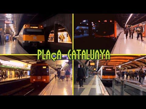 Estación de Plaça Catalunya : Rodalies , Metro y FGC ( Barcelona )