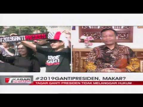 [EKSKLUSIF] Prof. Mahfud MD: Tagar 2019 Ganti Presiden Bukan Makar