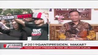 Download Video [EKSKLUSIF] Prof. Mahfud MD: Tagar 2019 Ganti Presiden Bukan Makar MP3 3GP MP4
