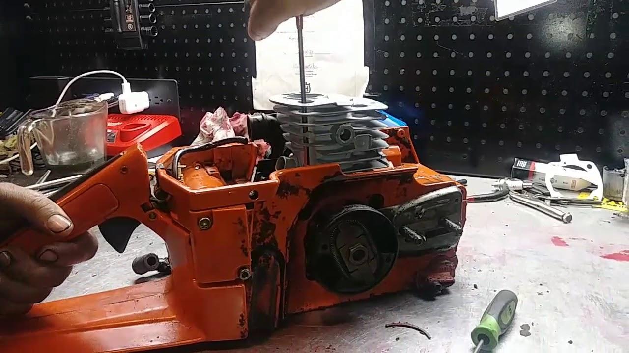 junta Florián pistón adecuado para Husqvarna 371 motor sierra motosierra Cilindro