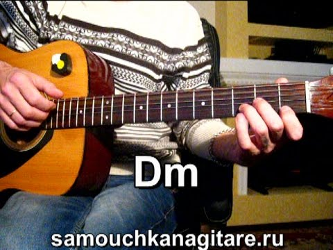 Подробный видеоразбор на гитаре песни летний вечер