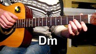 С.Трофимов - Я скучаю по тебе - Тональность ( Dm ) Как играть на гитаре песню