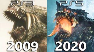 Demon's Souls - Original vs Remake Comparison (2009-2020)