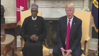 US president and Buhari on Terrorism issue
