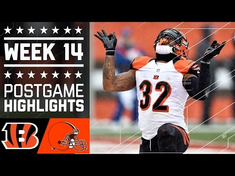 Bengals vs. Browns | NFL Week 14 Game Highlights