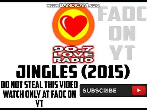 90.7 LOVE RADIO JINGLES (2015)
