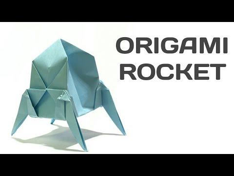 ORIGAMI ROCKET 🚀 | Best & Easy Paper Rocket 🚀 | How To Make Paper Rocket | Latest & Best Paper Art