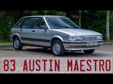 1983 Austin Maestro 1.3L Goes For A Drive