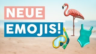 Neue Emojis 2019: Endlich kommt der Flamingo!