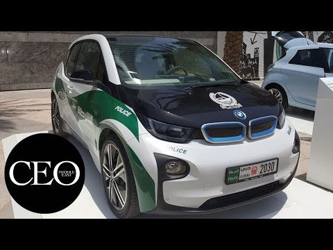 Dubai Police's latest high-tech vehicle: all-electric BMW i3