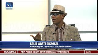 Environmentalist Says Poor Management Of Dumpster Cause Of Inferno 17/03/18 Pt.2 |News@10|