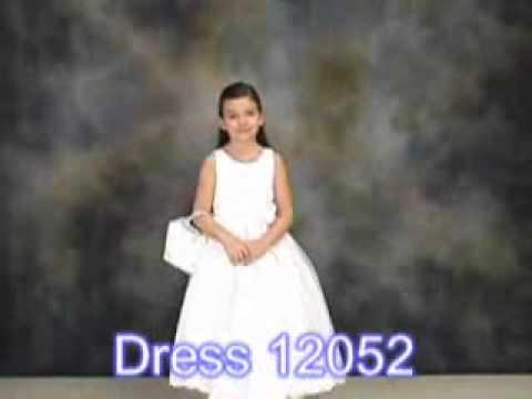 Communion Dress Flower Girl Dress 12052